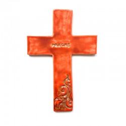 Krzyż ceramiczny PRAGNĘ