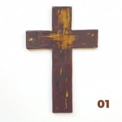 Krzyż ceramiczny MIEDŹ