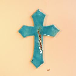 Krzyż ceramiczny KŁOS